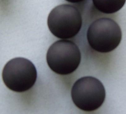 Precision ground rubber balls
